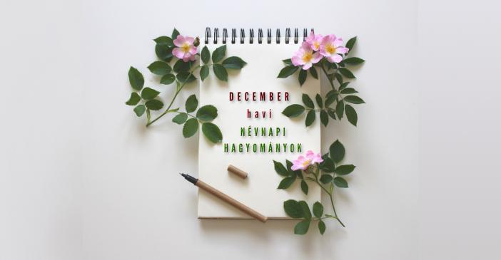 December havi névnapi hagyományok