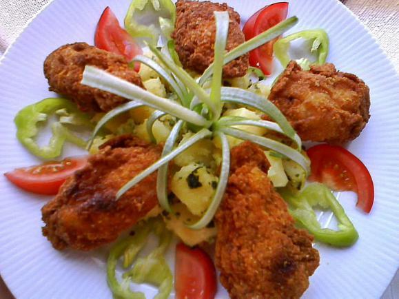 Csirkeszárny receptek