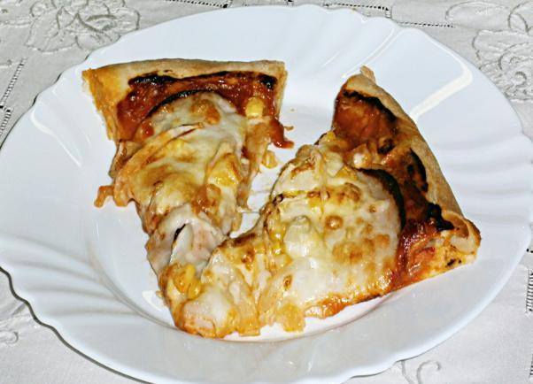 Pizza tészta, szósz - Pizza 1. -