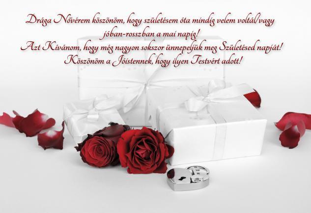 születésnapi idézetek nővéremnek Áldott Születésnapot Kívánok Neked Drága Nővérem!   Köszöntők