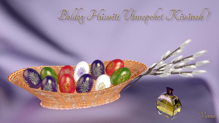 Egy kis húsvéti BLENDER-GIMP játék