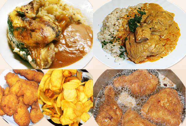 Olcsó csirkés receptek
