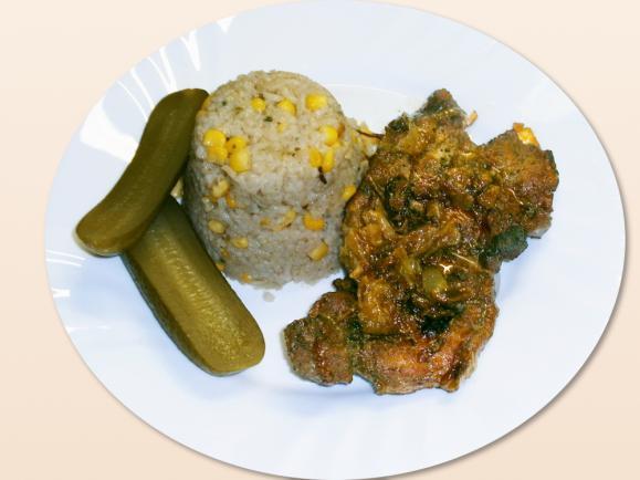 A főzést az alábbi sorrendben készítsd el, így igen sok időt megtakarítasz. A recept egy adagnak felel meg négy személyre.