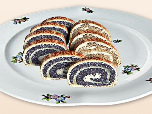 Mákos-diós beigli | Kelttésztás édes sütemények | OLCSÓ Receptek-Háztartás - icon