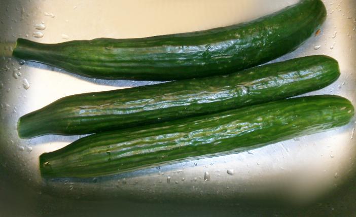 Tejfölös uborka saláta