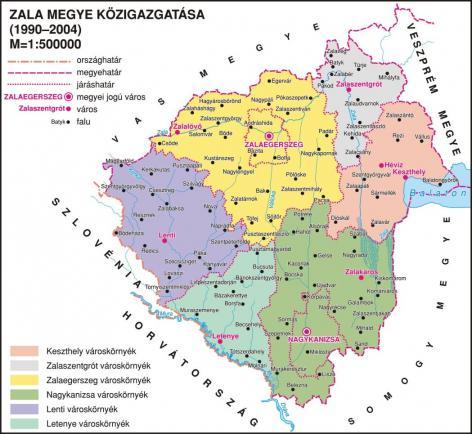 Zala megye nevezetességei | Zala-megye - Magyarországi települések nevezetességei - icon